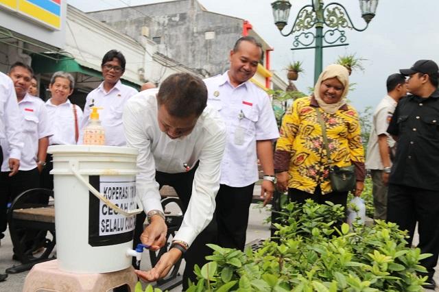 Walikota Haryadi Suyuti Ajak Masyarakat Cuci Tangan Secara Teratur