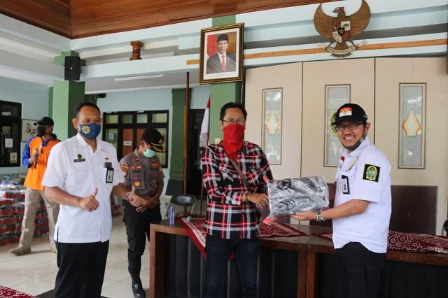 Libatkan UMKM, 27.200 Masker Kembali Disalurkan