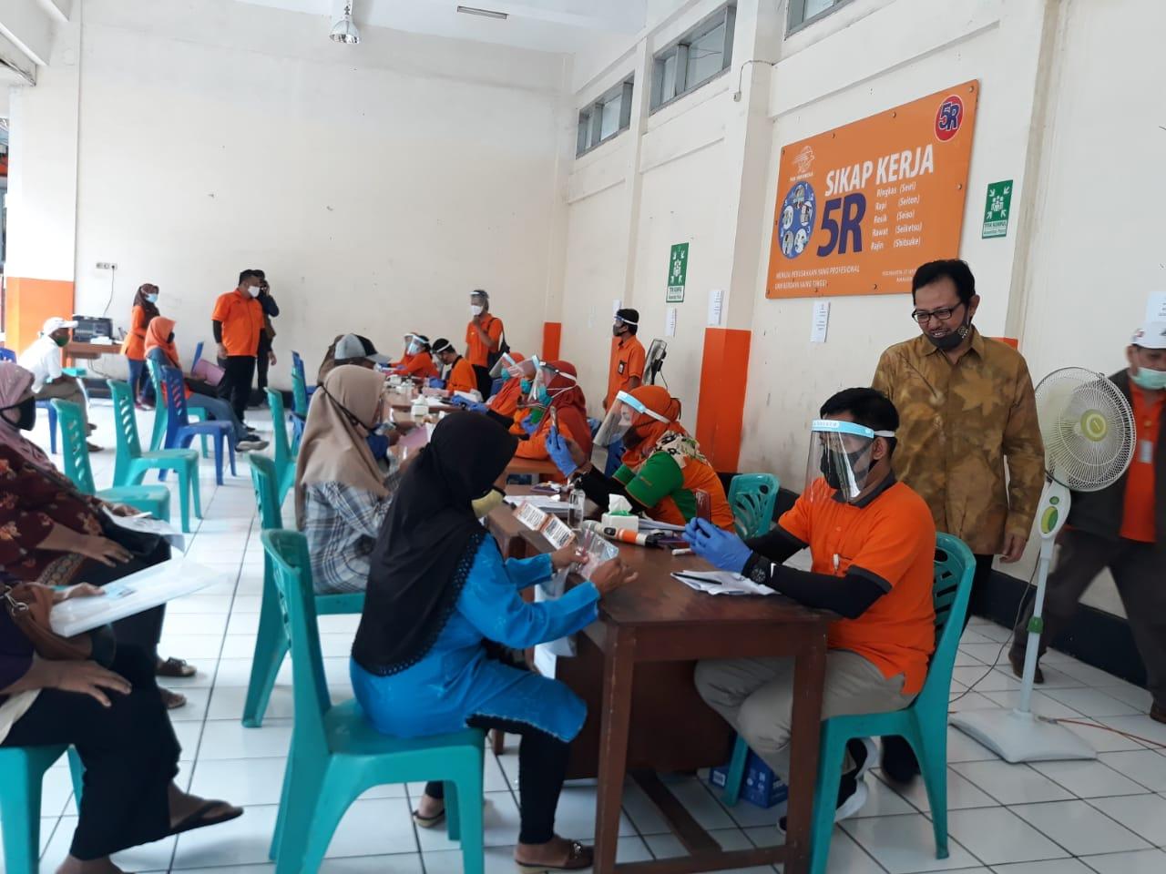 Warga Kota Yogya Terima Bantuan Langsung Tunai Dari Kementerian Sosial