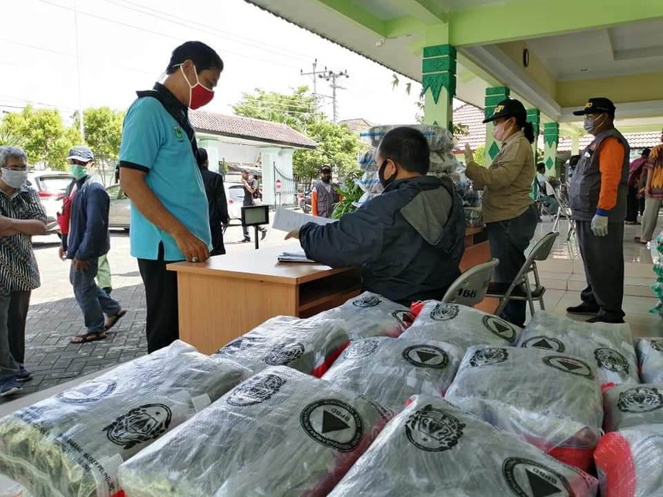 140.700 Buah Masker Telah Didistribusikan Ke Warga Kota Yogya