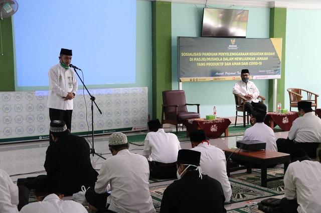 Semua Masjid Diharapkan Kantongi Surat Keterangan Aman Covid-19