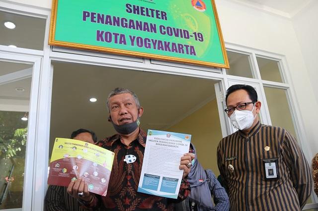 Pemkot Siapkan Shelter untuk Pasien OTG Covid-19